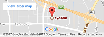 Map - Eye Exam - Nikki Iravani, O.D.